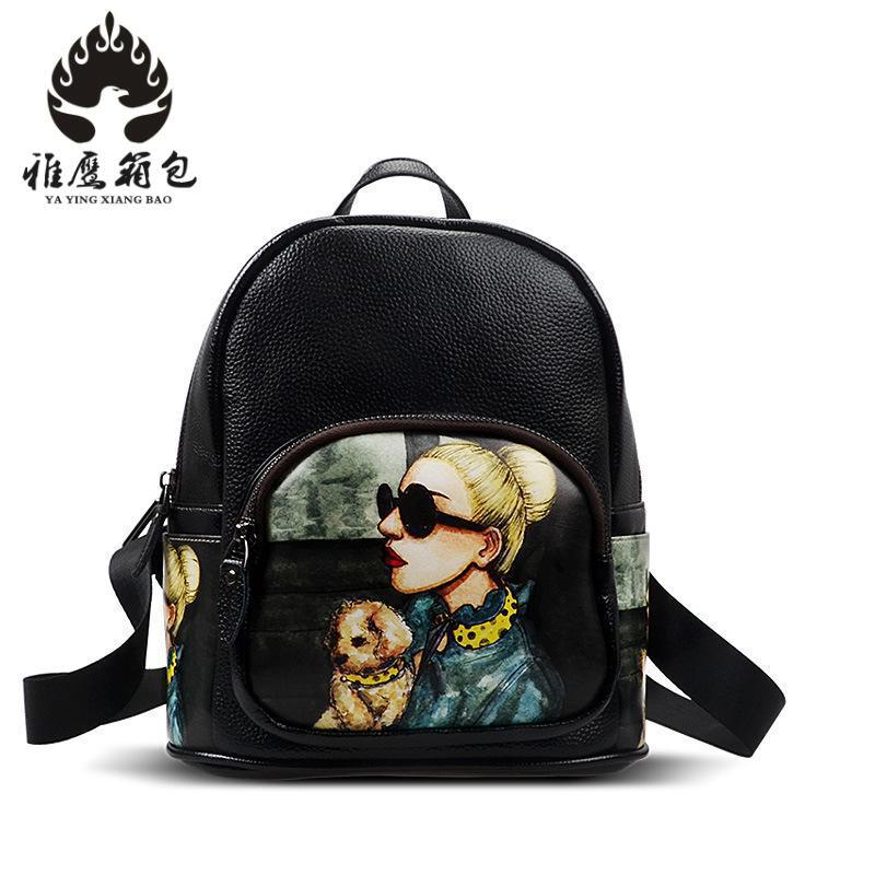 2018 Fashion Women Backpack High Quality Youth Leather Backpacks For Teenage Girls Female School Shoulder Bag Bagpack Mochila single sale super heroes gi joe series matt with junkyard dog firefly snow job power girl building blocks kids gift toys kf6028