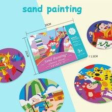 Песочный художественный китайский набор для рисования песком, 13 цветов, ручная работа, креативный подарочный набор, набор для рисования цветным песком