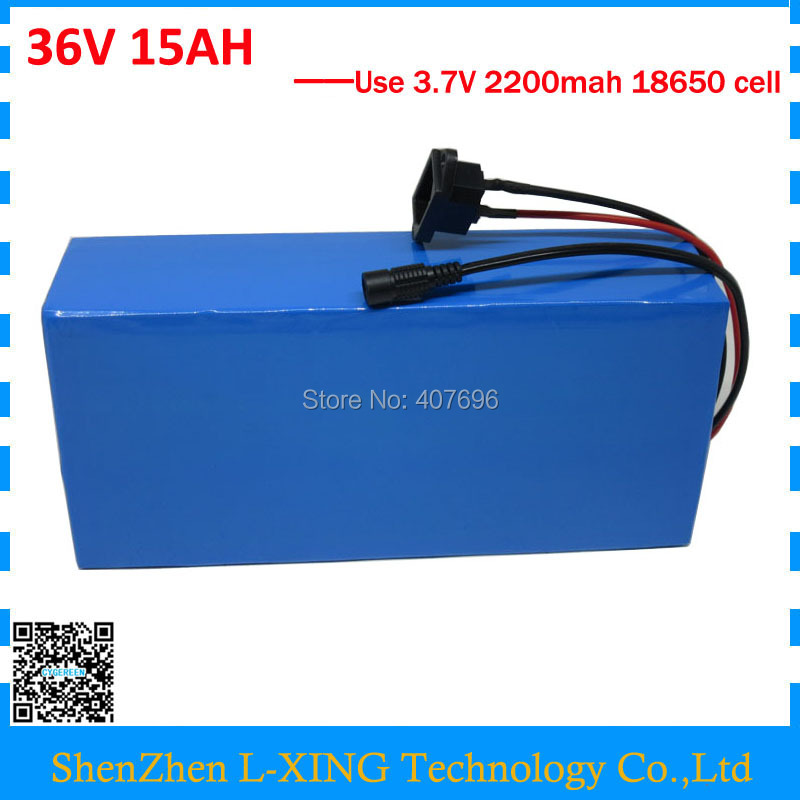 36V 15AH lithium battery 500W 36 V 15ah Electric bike battery use 15A BMS 42V 2A Charger Free customs fee good package liitokala 36v 6ah 500w 18650 lithium battery 36v 8ah electric bike battery with pvc case for electric bicycle 42v 2a charger