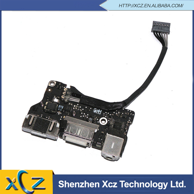 New Power Audio Board MagSafe I/O USB Board For MacBook Air 13'' A1466 I/O Board 820-3455-A 2013 MD760 MD761