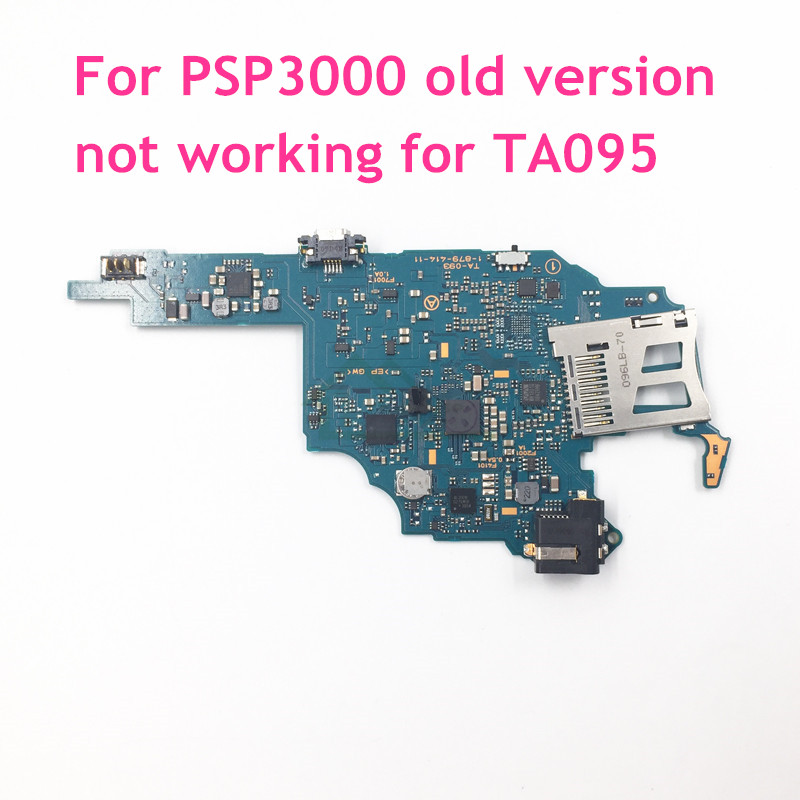 For PSP3000 Original Used motherboard main board replacement for Sony PSP 3000 Game Console PCB Board