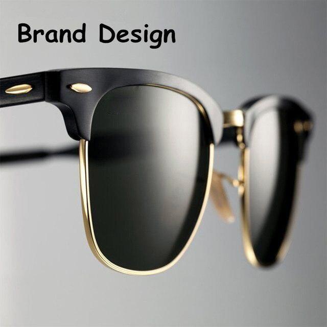 Luxury Vintage Polarized Sunglasses Women Brand Designer Retro Sun Glasses For Women Men Male Lady Female Sunglass Mirror Shades
