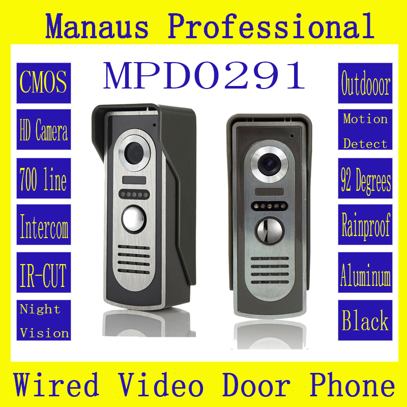 Professional Smart Home Wired Magnetic Lock Waterproof Video door phone,Outdoor Monitor Intercom Doorbell with HD Camera D291a the latest wifi magnetic lock ip65 rainproof video door phone outdoor monitor intercom atz dbv04p doorbell with 720p ip camera