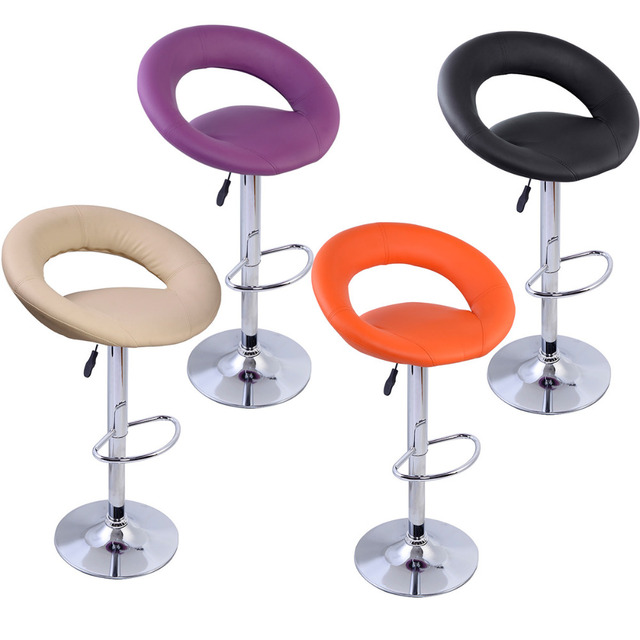 factory direct sale commercial modern bar stools rotates 360 degrees