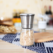 Creative Manual Glass Mill Rust Steel Pepper Coffee Grinder Household Portable Muller For Seasoning Spice Mill Kitchen Tools manual pepper grinder glass granule grinder seasoning bottle creative home kitchen supplies condimentos conteiner