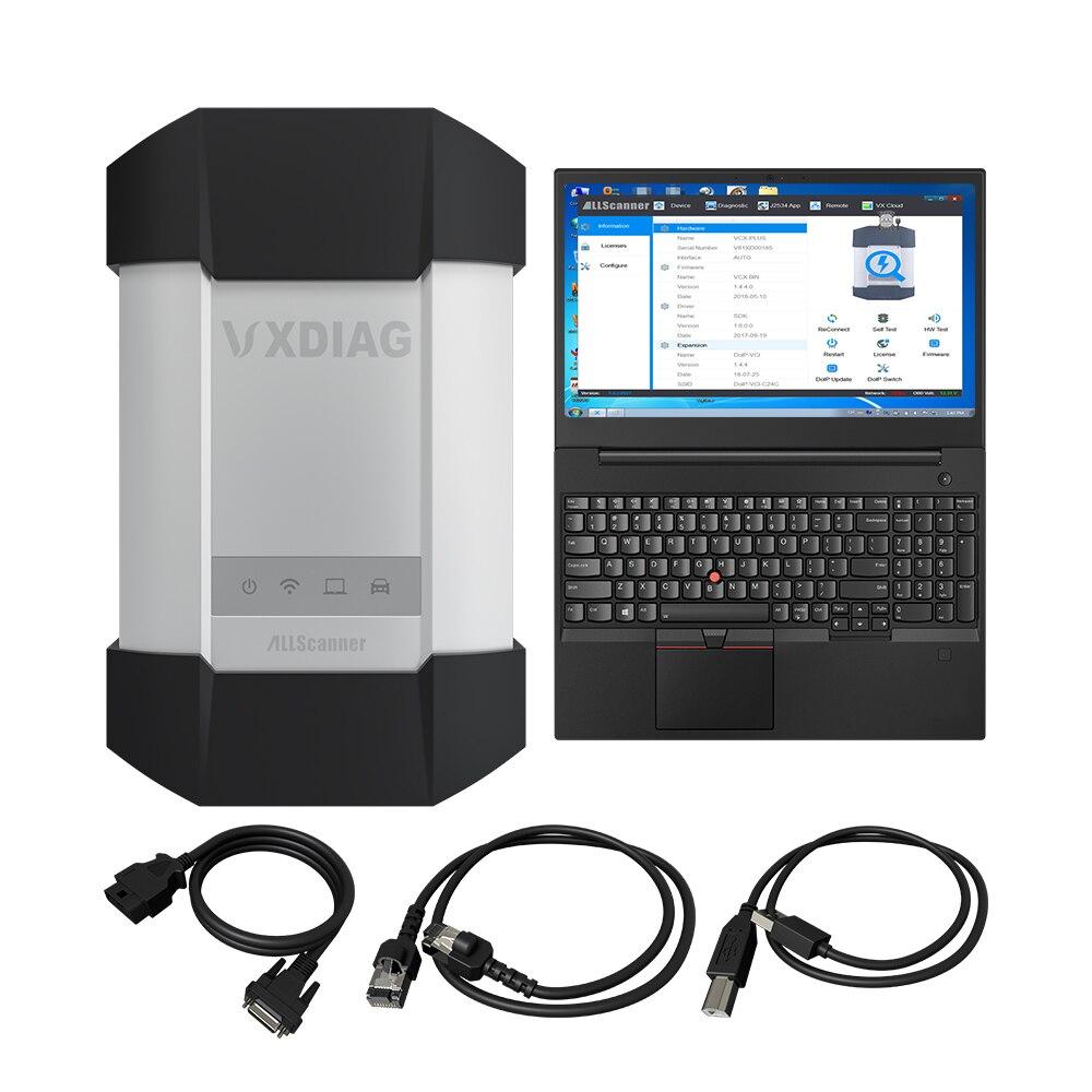VXDIAG VCX C6 Per Benz Auto Professionale Strumento Diagnostico SD Collegare meglio di MB star C4 C5 wifi Obd2 codice scanner programmazione - 6