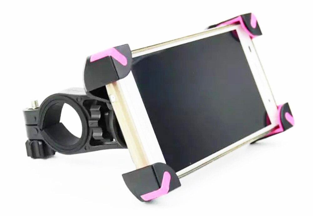 Teléfono móvil ajustable para bicicleta de manillar montaje soportes soportes pa