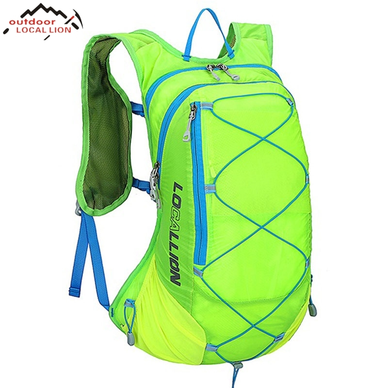 dark Travelling Sports Mountaineering black Waterproof Hunting Wear Blue Backpack red gray Green green With gray Bag Blue 15l Outdoor Camping Red Capacity Resistant Big x0BqBzwP