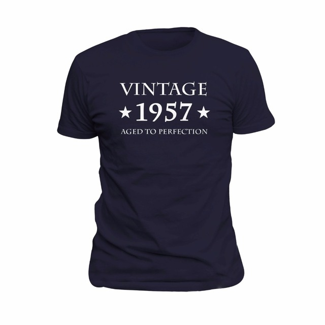 60Th Birthday Gift Vintage 1957 Shirt For 60 Years Old Turning Tshirt Funny Idea