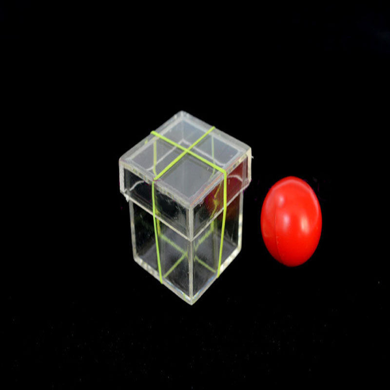 1 Set Magic Props Children Ball Penetrating Through Box Magic Toy Magic Trick For Professional Magician ConJuring Stage Close-up