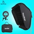 Godox Ajustable Flash Softbox Grid 24 * 24inch 60cm * 60cm + S type Bracket+Grid Mount Kit for Flash Speedlite Studio Shooting