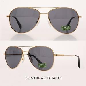 df168491b9 Vintage metal sunglasses frame polarized lens glasses for women men
