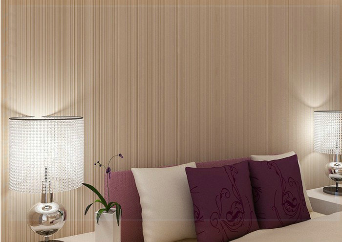 Simple Bedroom Wallpaper fine simple bedroom wallpaper nonwoven and stylish decoration cozy