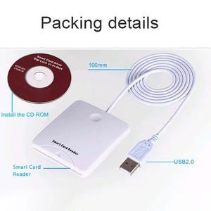 Image 5 - Tragbare USB Smart Chip Karte IC Kreditkarte Reader Encoder Schriftsteller mit SIM Slot für Windows für 2000 XP oder mac OS X Linux