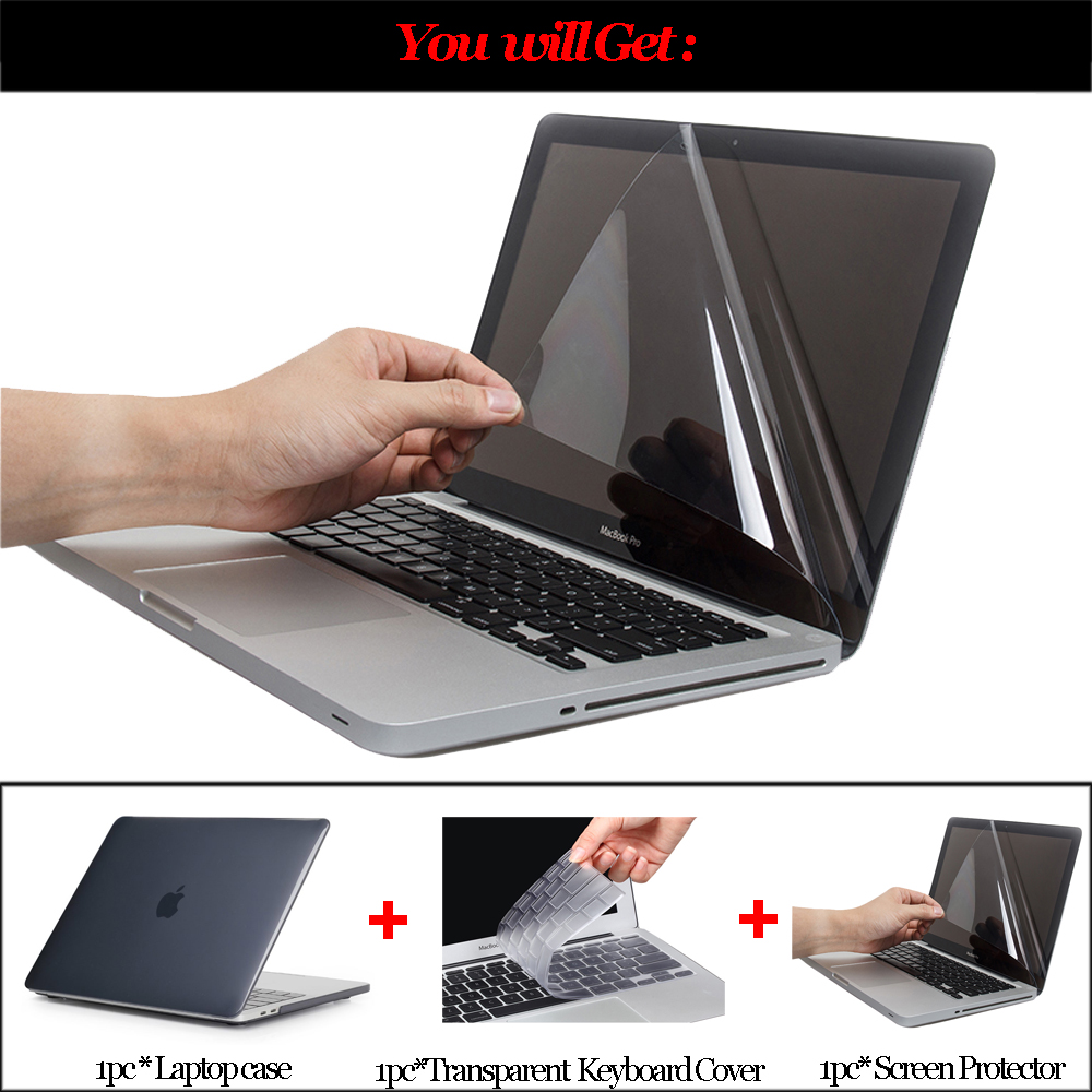 1PC Laptop Sleeve Bag Case Cover For MacBook Mac Air// Pro// Pro Flat Cover