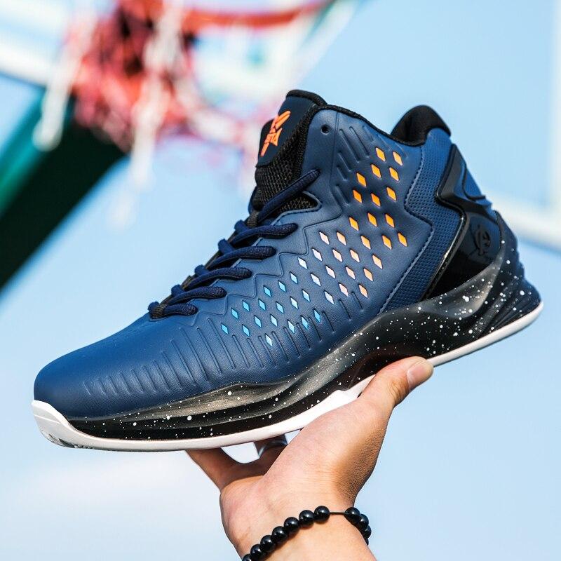 Hommes chaussures de basket 2019 marque Zapatos Hombre haut Jordan chaussures rétro en plein air anti-dérapant respirant chaussures de sport légères