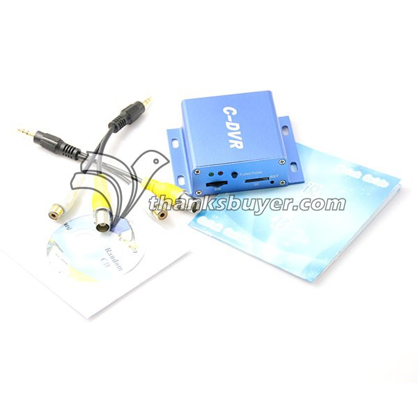 Mini FPV C DVR 1CH VIDEO 1CH AUDIO TF SDHC Card Video Recorder DVR CCTV Cameras
