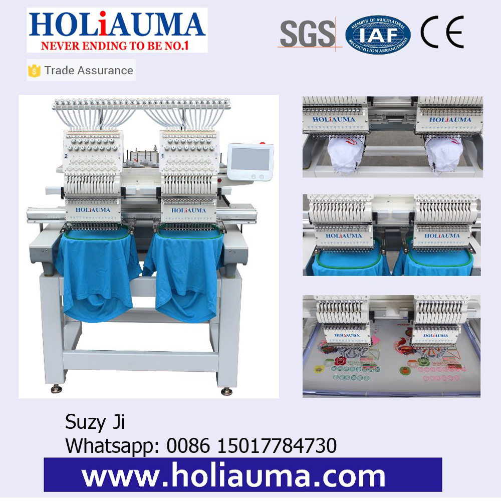 Hot Sale Product Holiauma Barudan Embroidery Machine Two