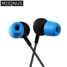 Accesorios para auriculares T300, almohadillas de espuma para el oído, aislante de ruido, 1 par