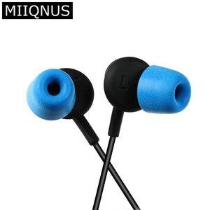 Image 1 - Accesorios para auriculares T300, almohadillas de espuma para el oído, aislante de ruido, 1 par