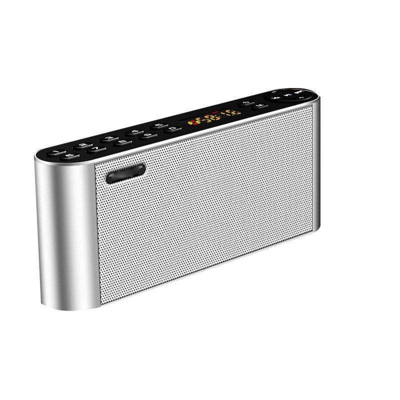 Bluetooth Speaker Portable Wireless Handsfree Pocket Audio Speaker Subwoofer HiFi Led Display with Mic TF FM Radio Music Player n74u portable media player speaker magaphone w tf usb fm microphone black
