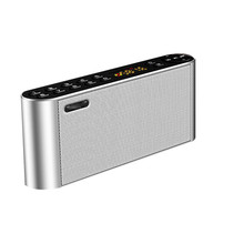 Bluetooth Speaker Portable Wireless Handsfree Pocket Audio Speaker Subwoofer HiFi Led Display with Mic TF FM Radio Music Player