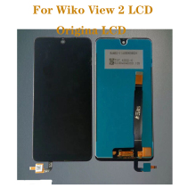 цена на 6-inch Origina LCD touch screen assembly screen for Wiko View 2 LCD display digitizer phone repair parts