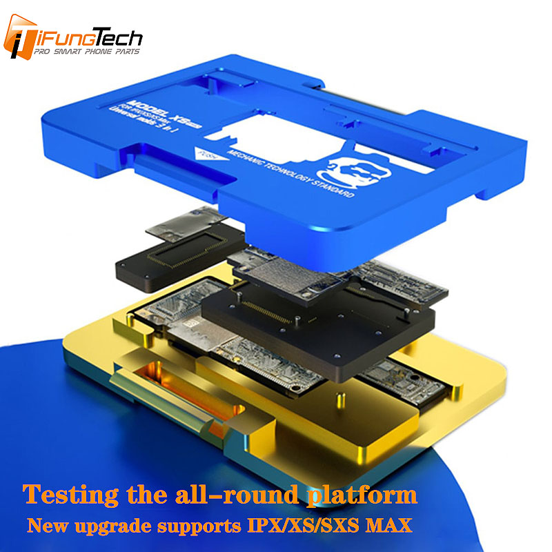 New upgrade XS Pro iSocket PCB motherboard bracket fixture for iPhone X XS XS MAX upper and laminate tester maintenance fixtureNew upgrade XS Pro iSocket PCB motherboard bracket fixture for iPhone X XS XS MAX upper and laminate tester maintenance fixture