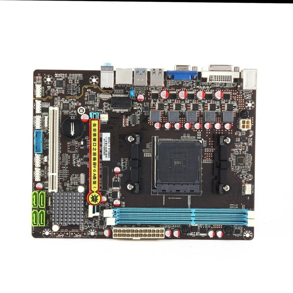 F2A68MFM2 Computer Motherboard Anti-surge Full-time Power Guardian USB Data Transmission DIGI+ VRM & EPU Control computer motherboard 5x protection ii anti surge usb 3 0 data transmission digi digital power control mainboard motherboard