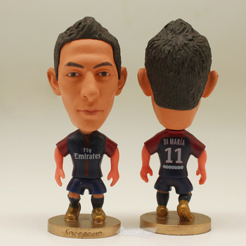Soccer Star 11# DI MARIA (PSG-2017) 2.5 Action Dolls Figurine muñeco buffon