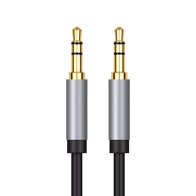 Jack 3.5 Audio Aux Cable Jack 3.5mm Auxiliary Cord Audio splitter Speaker Wire for Car Headphone iPhone Samsung galaxy S8 Xiaomi