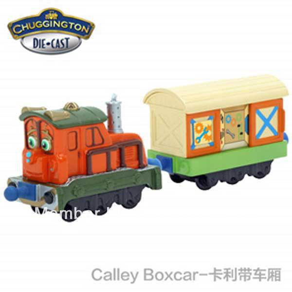 Free Shipping Brand New Chuggington Trains Calley With Box Car ...