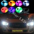 Par T16 T10 W5W 12 V LEVOU Luz de Apuramento Marcador Lâmpada Canbus Para Infiniti M37/G25/G35/G37/FX35/FX37/EX25
