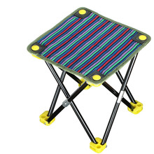 Portable folding chairs outdoor picnic camping hiking fishing barbecue garden stool chair seat wholesale tripod feet
