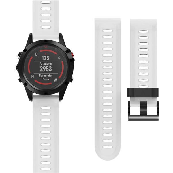 Новый высокое качество ремешок 2018 26 мм замена силикагеля мягкий ремешок для Гармин Феникс 5х ГПС часы 7 цветов ремешки для наручных часов