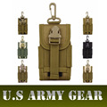 Equipo Cinta Adjuntar Paquete 5.5 Pulgadas Exterior Tácticas Molle Paquete de Teléfono Militar Army Men Cintura Bolsa Adherida Bolsa Pochete Gear Packs