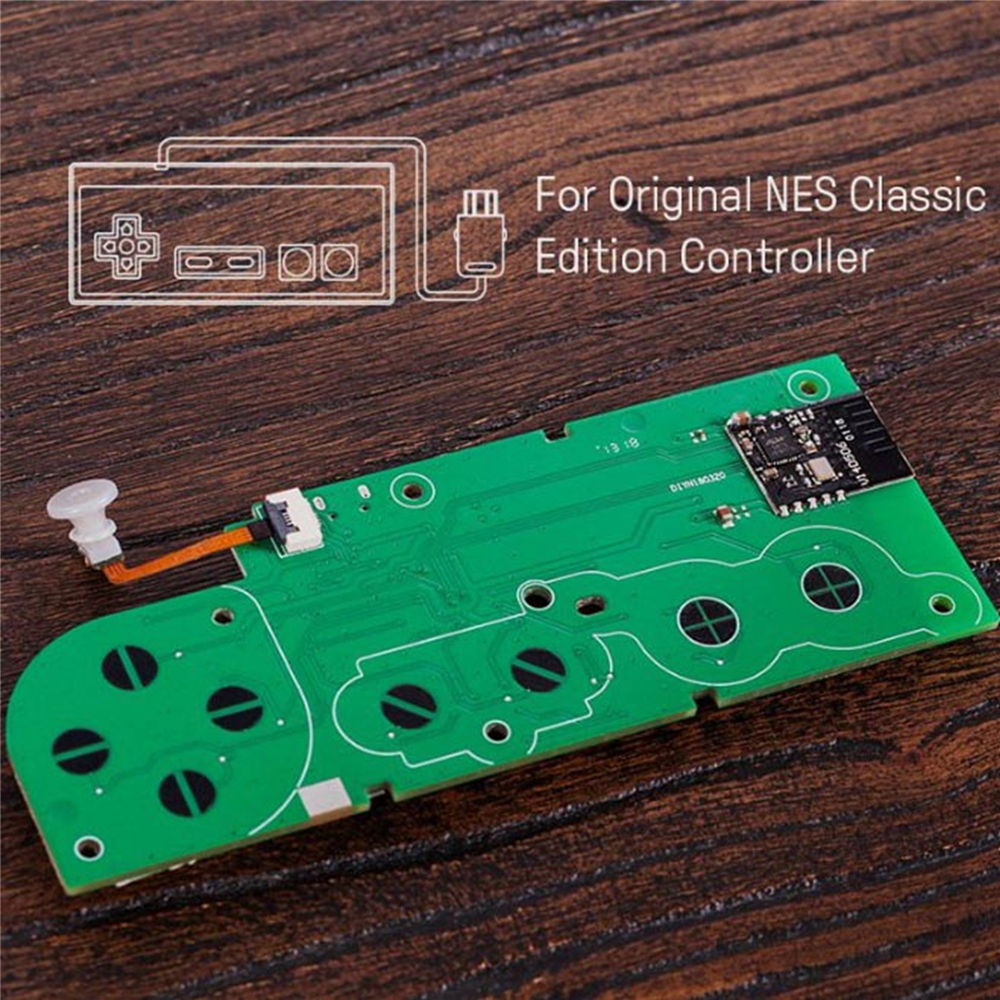 8BitDo Mod Kit for NES Classic Edition Controller DIY NS Classic Controller to Bluetooth Gamepad usb Controller Accessories