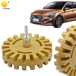 4 inch 100mm pneumatic degumming disc In addition to rubber head Paint removal rubber wheel Degumming rubber grinding wheel