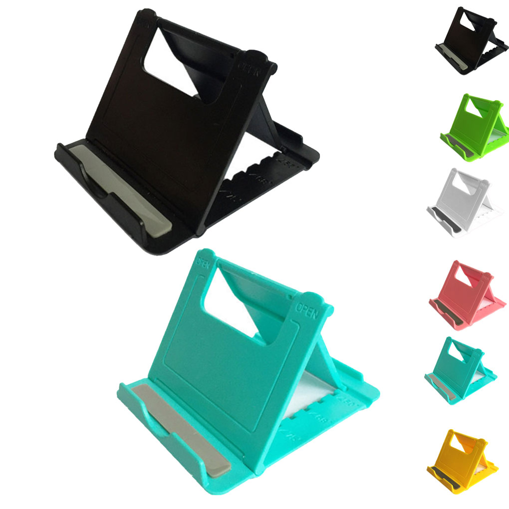Desk-Stand Mount Lazy-Holder Phone Foldable Tablet Multi-Angle Adjustable Universal
