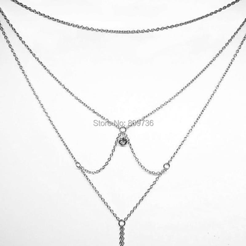 HTB1UuikKpXXXXbqapXXq6xXFXXXB Hot Long Back Golden Chain Necklace For Women
