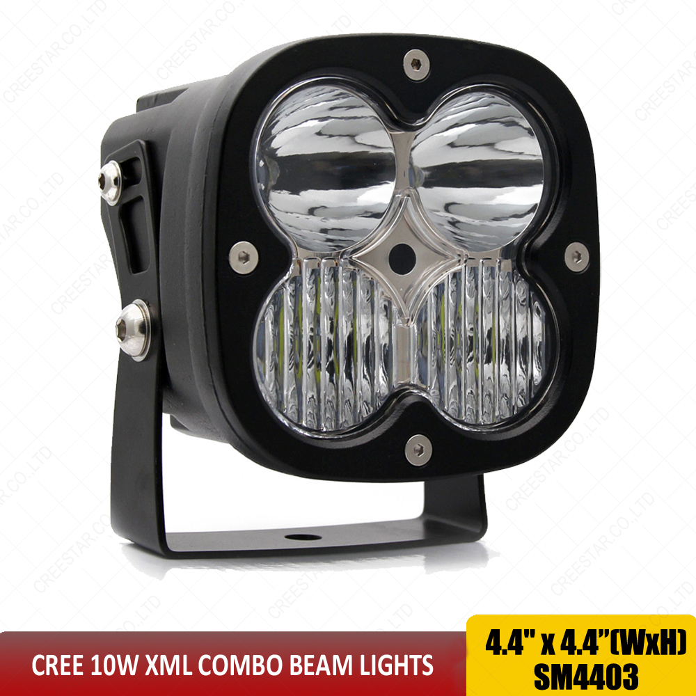 Combo 40w LED WORK LIGHT 4INCH LED TRUCK DRIVING OFFROAD LIGHT USED FOR CAR TRUCK SUV