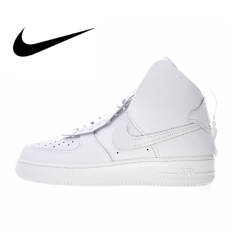 differently 2c732 18550 Original Nike Air Force 1 High X PSNY Womens Skateboarding Shoes Outdoor  Sneakers Athletic Designer Footwear 2019 New AO9292-100