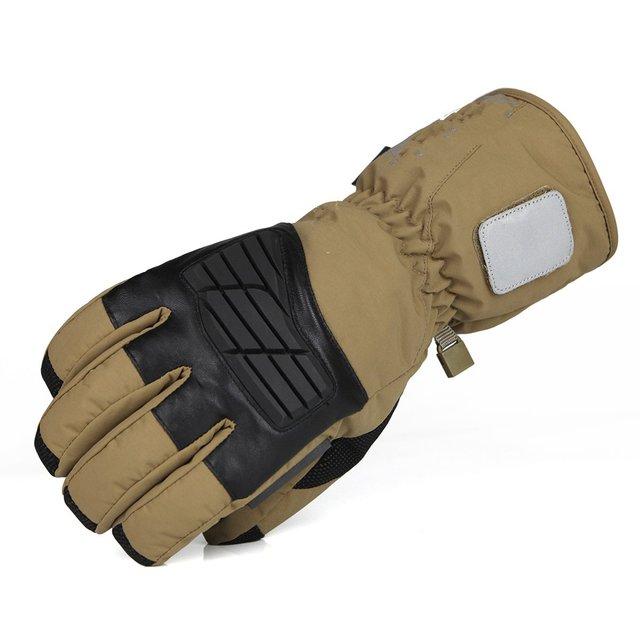 Técnicos que espesa más cálido cachemira militar táctico al aire libre guantes de esquí guantes de montar llena de movimiento