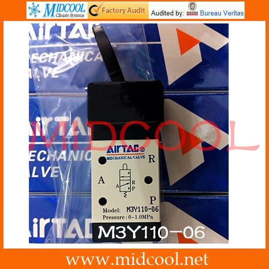 Original AirTAC Control valve(3/2way) M3 Series M3Y110-06 original airtac control valve m3 series