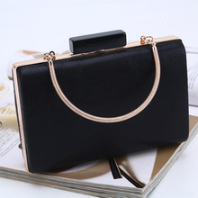 ladies pu leather evening party clutch lady casual leisure bag handbag dinner night brand
