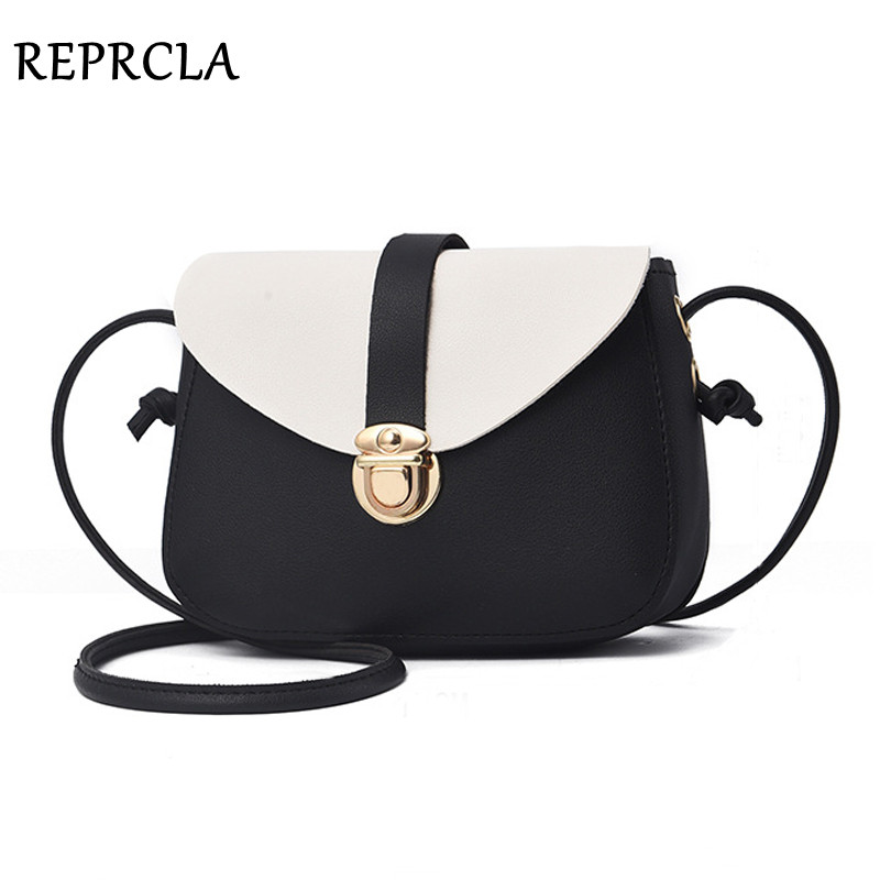 цены REPRCLA Fashion Small Crossbody Bags for Women 2018 Mini Shoulder Bag PU Leather Women Messenger Bag Ladies Handbags Purse