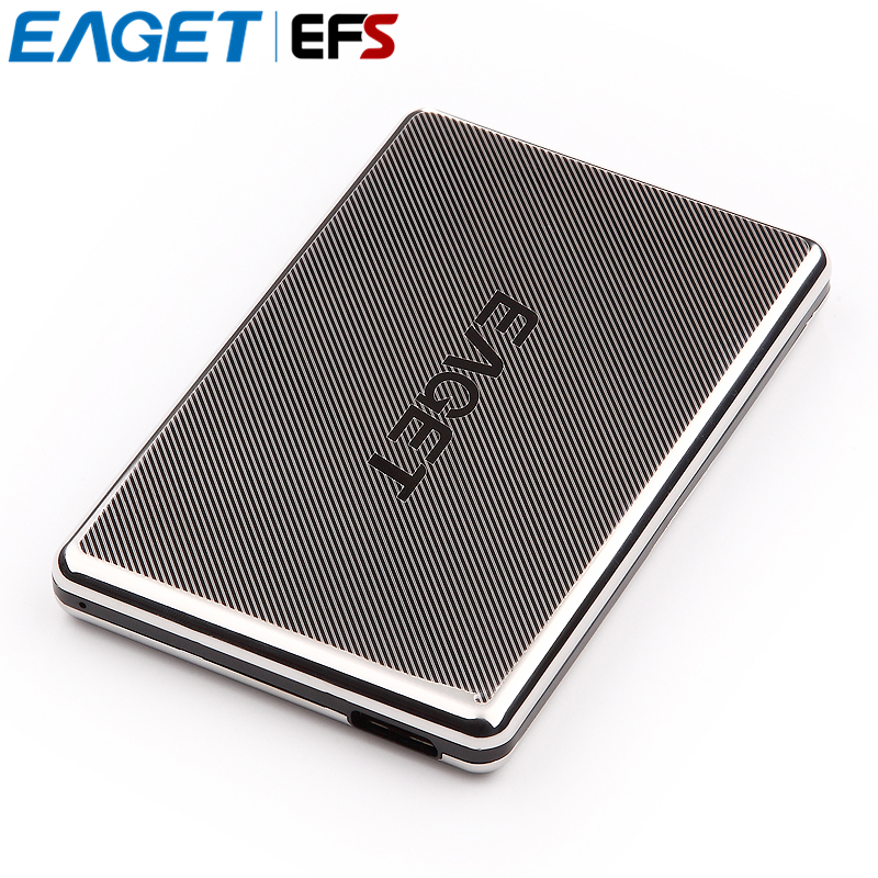 Hot Sell EAGET G50 2.5 Full Stainless Steel 1tb HDD 500GB USB3.0 Encryption Shockproof High-speed PC External Hard Drives Disk