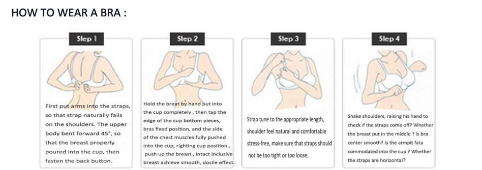 Lace Bra Set Wire Free Underwear Set Women Heart Pattern Lingerie Sets A B C 3/4 Cup Bralette Bra Sets Back Two Rows Underwear 4