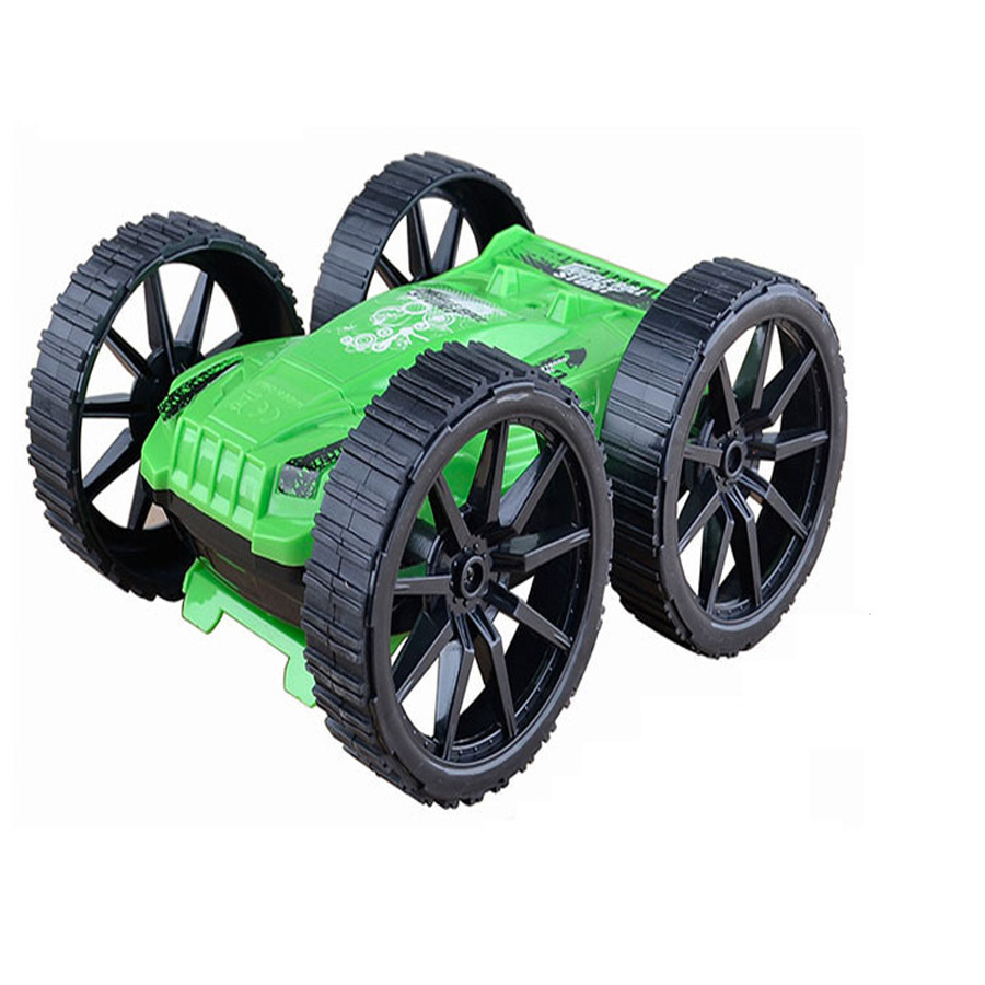 Remote Control RC Cars 360 Degree Flip Stunt Car Rotating Four Wheel Drive Children's Toys Car Model Remote Control Toy china remote control dune buggy huanqi rc cars electric car baby amphibious four wheel drive hummers car with brake lights music