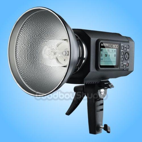 Godox AD600 600W TTL HSS 2.4G Outdoor Portable Studio Flash Strobe Godox Mount godox es 600p 600w gn68 xenergizer wireless portable flash studio light lighting kit